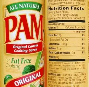 Oleo sapray Pam