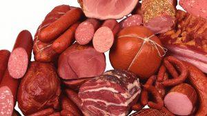 carne vermelha processada